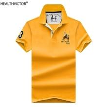 Short-Sleeve T-Shirt Golf-Training Summer Male Collar Men Cotton Breathable Turn-Down