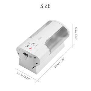 Image 5 - Tự Động 400 Ml Bọt Xà Phòng Treo Tường Gắn Lỏng Bình Đựng Xà Phòng Cảm Biến Thông Minh Touchless Phòng Tắm Nhà Bếp