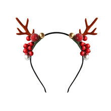 Unisex Headband Antlers Headpiece Deer Party Accessory For Girl's Kids Easter Christmas Cute Lovely Headwear Hair Headpiece(China)