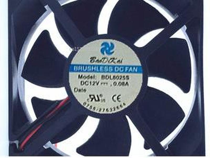 For Humidifier Fan MODEL: BDL8025S 12v 0.08A Humidifier Cooling Fan 80*25MM Free Shipping