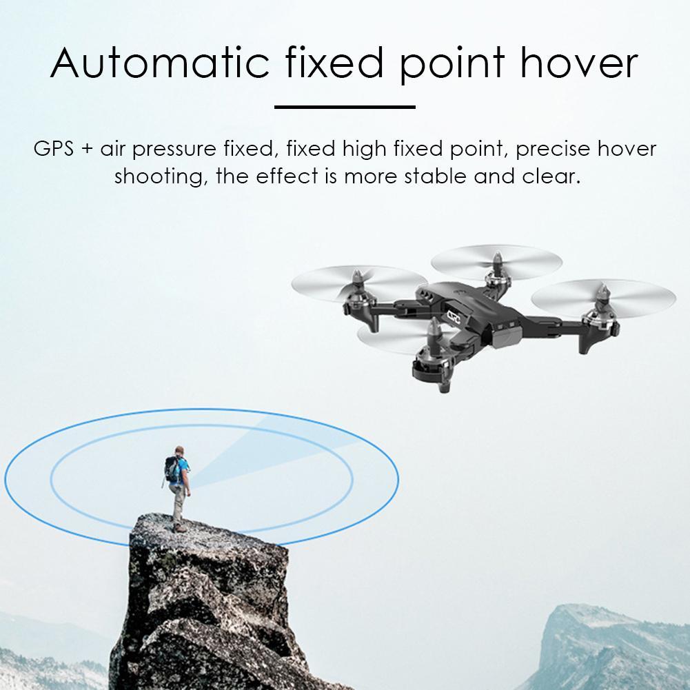 4K складной Дрон с GPS аэрофотосъемкой двойной Интеллектуальный точность позиционирования возврат четырехосный CS-7 пульт дистанционного упр...