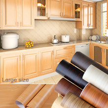 3M/5M New Wood Grain Wallpaper Vinyl Self Adhesive Decorative Film for Kitchen Cupboard Furniture Waterproof Contact Paper