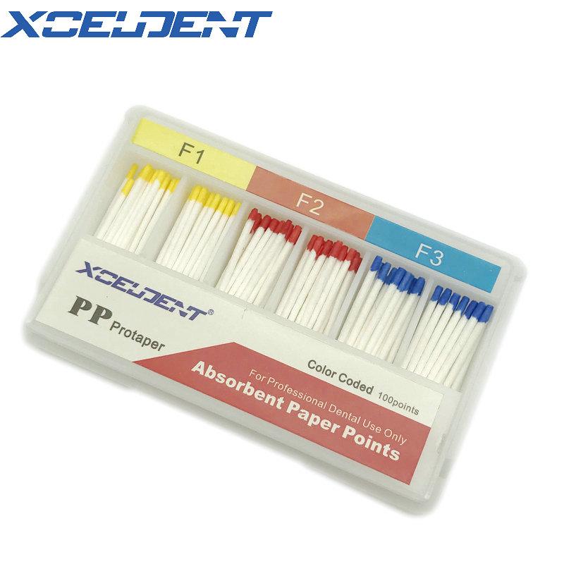 1 Box Dental Absorbent Paper Points For Protaper Files Dental Materials Root Cancel Endodontics Absorption Dentistry Instrument