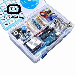 Image 5 - Robottinging UNO Project Kit de iniciación más completo para Arduino Mega2560 UNO con Tutorial/Fuente de alimentación/Servo Motor paso a paso