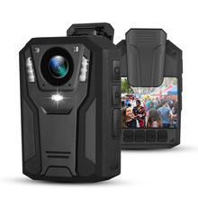 Boblov 1296p câmera de montagem corporal 32g/64g 9h gravador de vídeo vestível para segurança policial guarda visão noturna mini câmera