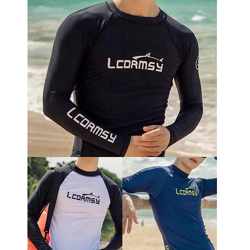 TSMC УФ Защита для серфинга Рашгард мужской купальник с длинным рукавом Купальник Мужская Рашгард рубашка для серфинга для плавания парус Прямая поставка