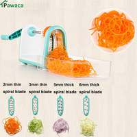 Slicer Vegetable Cutting Machine Manual Potato Julienne Carrot Slicer Cutter Cheese Grater Stainless Steel Blades Kitchen Tool