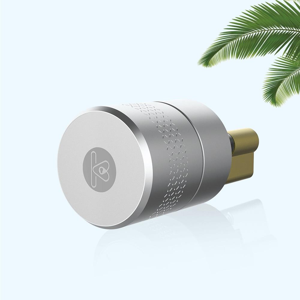 Fingerprint Phone Control Smart Lock Body Stainless Steel Lockbody Tuya Access Lock Core For Door Lock Modification Upgrade