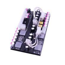 500W yüksek güç 24PIN DC atx güç kaynağı PSU çift 12V çıkış kanallı