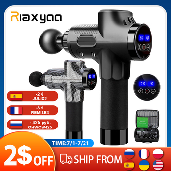 High frequency Massage Gun Muscle Relax Body Relaxation Electric Massager with Portable Bag Therapy Gun for fitness 1