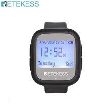 Водонепроницаемый приемник часов Retekess TD106 для беспроводной системы вызова официанта ресторанное оборудование кафе офис обслуживание клие...