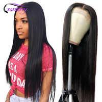 Arándano pelo hueso recto Cierre de cabello peluca Remy malayo Cierre de encaje peluca pelucas de cabello humano para las mujeres negras Prelucked cabello
