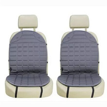 12V Universal Heated Car Seat Cushion Cover Temperature Control Heating Pad Warmer Covers For Auto SUV