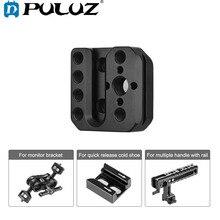 PULUZ soporte de montaje externo para DJI RONIN/RONIN S, placa de liberación rápida, accesorios de cardán para teléfono