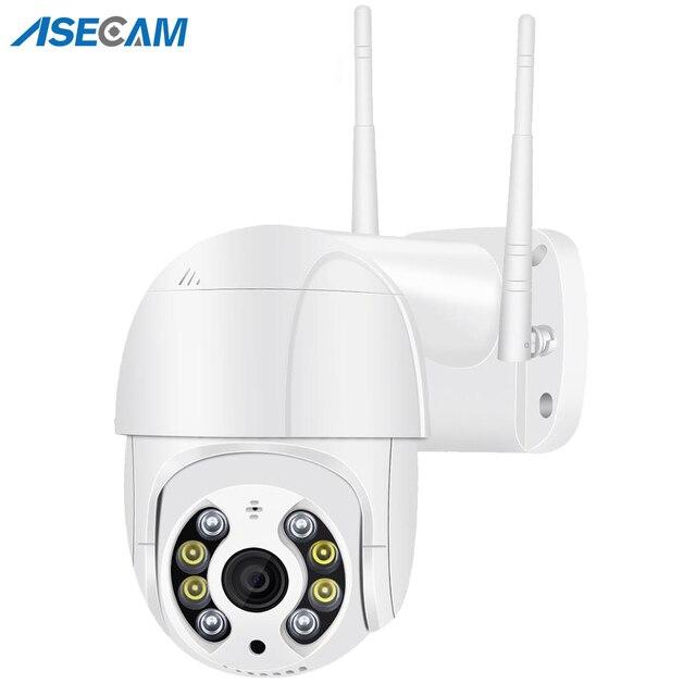 Mini caméra de Surveillance PTZ IP Wifi hd 5MP, dispositif de sécurité sans fil, avec suivi automatique, codec H.265, Zoom numérique x4, ia, détection humaine 1