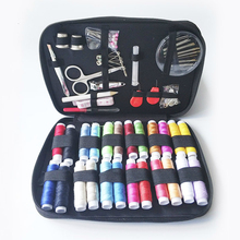 90 Pcs Travel Sewing Box DIY Portable Sewing Kit Knitting Needles sewing thread set Embroidery Craft Sewing Tool Accessories
