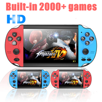 X12 PLUS Retro Video Game Handheld Game Console Built in 2000+Classic Games Portable Mini Player 5.1 inch IPS Screen 8G+32G