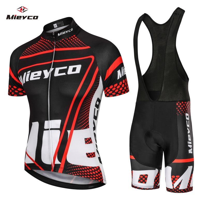 Велосипедные комплекты, велосипедная униформа, летний комплект из шорт и трикотажа, Джерси, Джерси для дорожного велосипеда, одежда для гор...