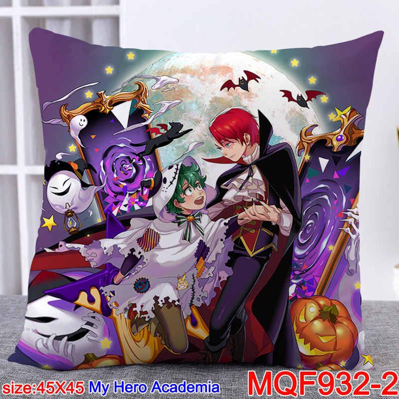 45X45CM Anime Boku Geen Hero Academia Kussenslopen Mijn Hero Academia Dakimakura Case 3D Dubbelzijdig Afdrukken Kussensloop Aanpassen M1