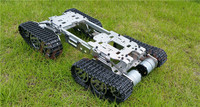 RC Tank Model Metal Tank Chassis Tractor Crawler Balance Tank Chassis Mount Truck Robot Chassis for Arduino Car DIY Robotic Kit