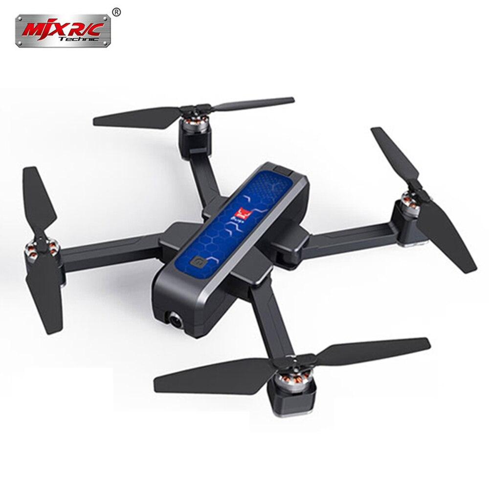 MJX LAUMOX 4 Bugs W B4W 5G WIFI GPS FPV Brushless Dobrável Ultrasonic RC Zangão 2 K Câmera HD anti-shake De Fluxo Óptico Quadcopter