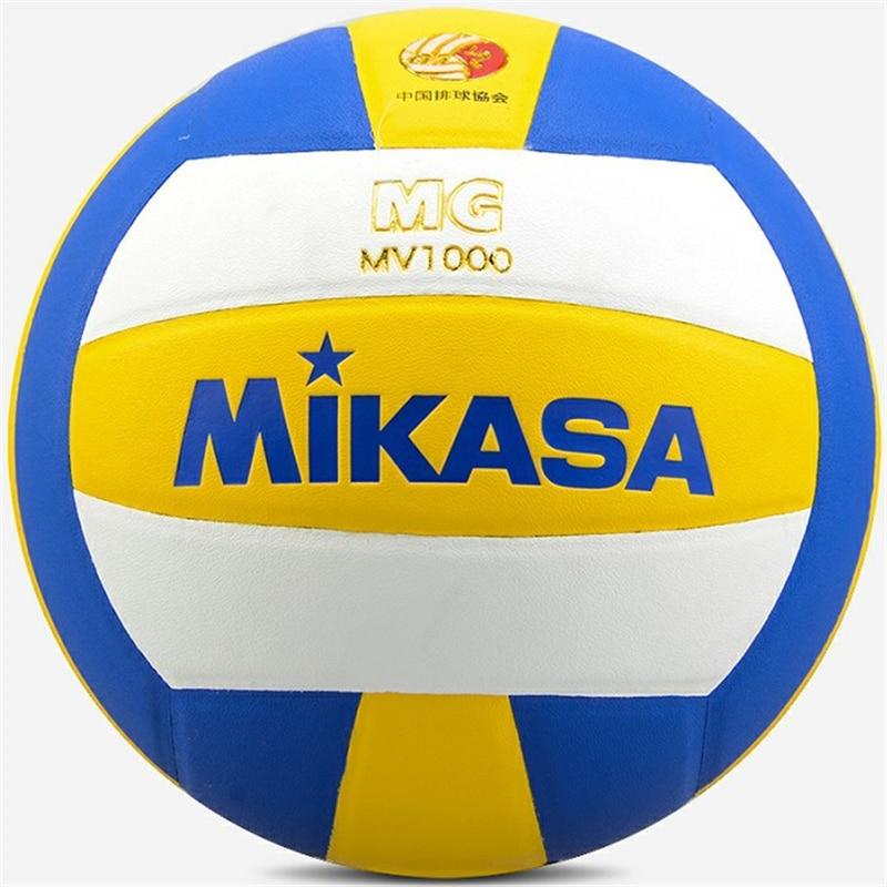 Original Japan MIKASA MV1000 Volleyball PU Adult NO.5 Standard Training Professional Match Volleyball