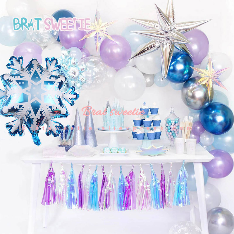 Iridescent Foil Party Supplies Tableware Decorations /& Balloons