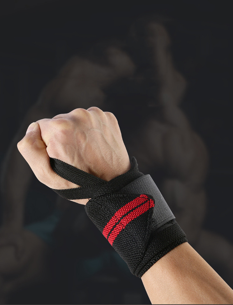 Weight Lifting Strap Fitness Gym Sport Wrist Wrap Bandage Hand Support Wristband (3)
