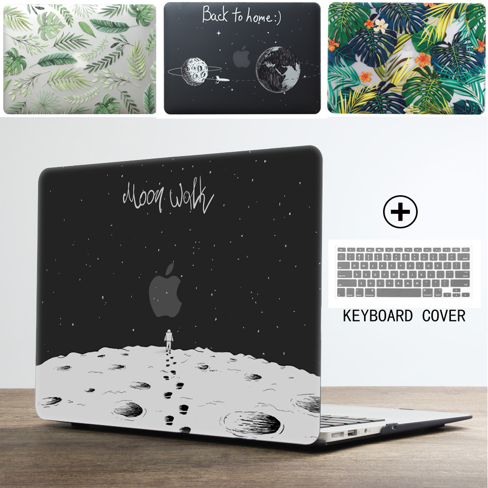 New Print Universe Laptop Case For <font><b>MacBook</b></font> Air <font><b>Pro</b></font> Retina 11 12 <font><b>13</b></font> 15 inch with Touch Bar + Keyboard <font><b>Cover</b></font> image