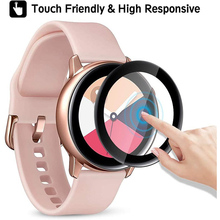 Full-Screen-Protector-Film Galaxy Watch Samsung 44mm 3D for Active-1/2-40mm Curved