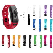 Replacement Soft Silicone Wrist Strap WatchBand For Garmin Vivosmart HR Smart Band