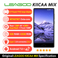 LEAGOO KIICAA MIX 4G мобильный телефон 5,5 дюйма, разрешение Full Экран Android 7,0 MTK6750T Core спереди отпечатков пальцев, 3 Гб оперативной памяти, 32 Гб встроенно...