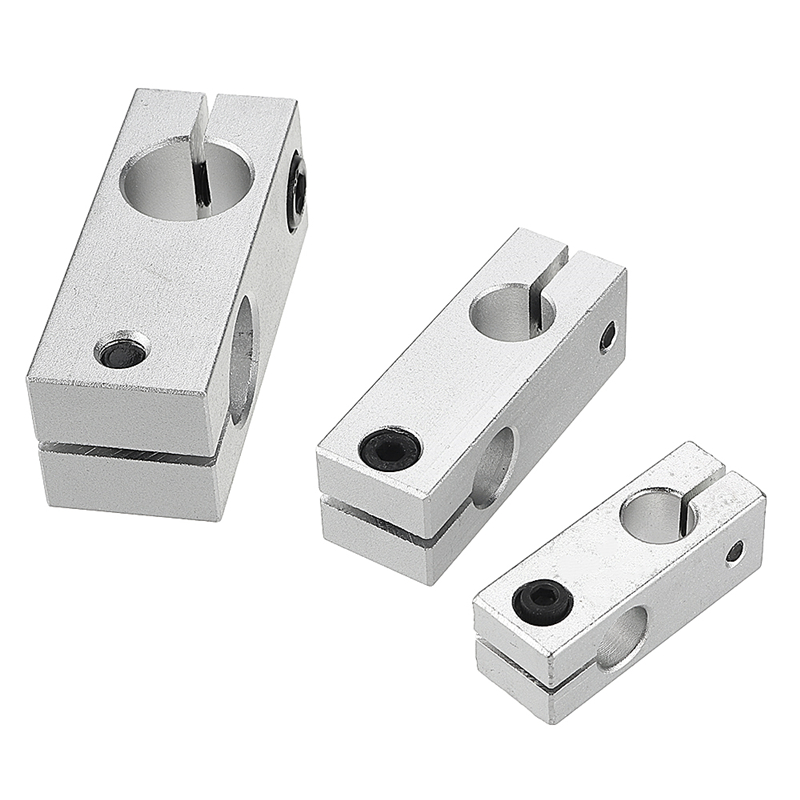 Cross Connector Fixing Block Vertical Retaining Clip Optical-axis Holder For Linear Rail CNC Parts