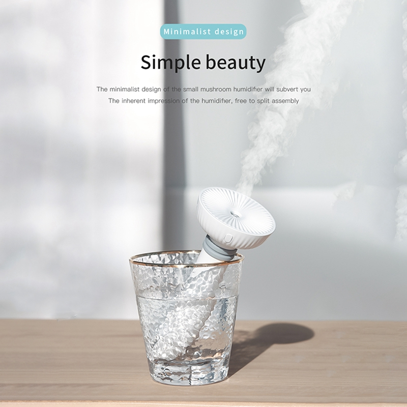 ABRA Creative Adjustable Height USB Humidifier Portable Ultrasonic Mist Maker Aroma Diffuser for Home Office Air Humidifiers|Humidifiers| |  - title=