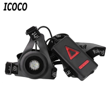 New Outdoor Sport Running Lights LED Night Running Flashlight Warning Lights USB Charge Chest Lamp White Light Torch Sale