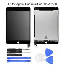 LCD Display Touch Screen Digitizer for iPad Mini 4 A1538 A1550 Assembly Tools new brand tested for ipad mini 4 lcd a1538 a1550 display screen with touch screen digitizer assembly 1pcs 7 9 inch replacement