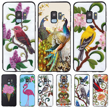 owl bird For Samsung Galaxy S6 S7 Edge S8 S9 S10 Plus Lite Note 8 9 10 A30 A40 A50 A60 A70 M10 M20 phone Case cover silicone(China)