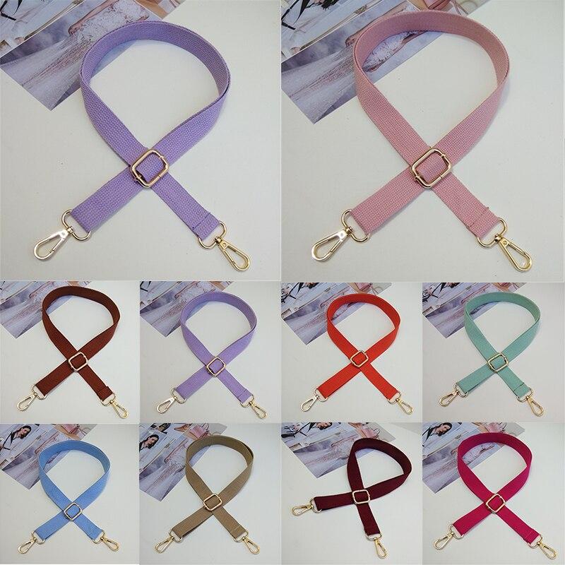 Replacement Belt Bag Belt Adjustable Shoulder Strap Messenger Bag Strap Cotton Fabric Bag Strap Crossbody Bags Wide Strap Parts