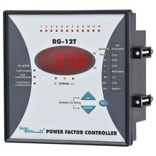 Samwha-Dsp RG-12T Power Factor Controller, 12 Steps, 220VAC 50/60Hz