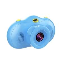 Children Mini Camera 2.4 inch Screen 18MP Dual Lens Cartoon Digital