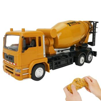 RCtown 1/24 10CH RC Truck Cement Mixer Engineering Truck 360° Rotation RC Dump Truck With Simulated Music Car Toy a016 rc excavator toy rc engineering car mini rc truck rechargeable simulated excavator dump truck model toy vehicles for kids