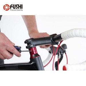 Image 3 - الدراجة سماعة محامل MH P16 40*52*7mm 45/45 2 قطعة ACB الطريق MTB الزاوي الاتصال محمل الدراجة ACB4052