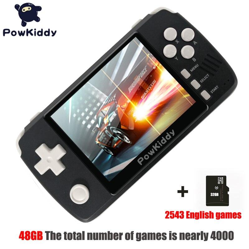 Powkiddy Q80 Retro Video Game Console Handset 3.5