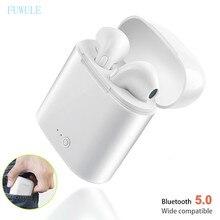 I7s TWS Bluetooth 5,0, беспроводные наушники, наушники с зарядным устройством, микрофон, мини спортивная Гарнитура для Xiaomi huawei, всех смартфонов