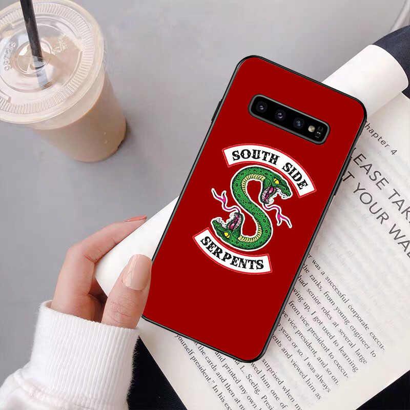 NBDRUICAI Riverdale South Side งูงูสำหรับ Samsung S9 PLUS S5 S6 EDGE PLUS S7 EDGE S8 PLUS s10 E S10 PLUS