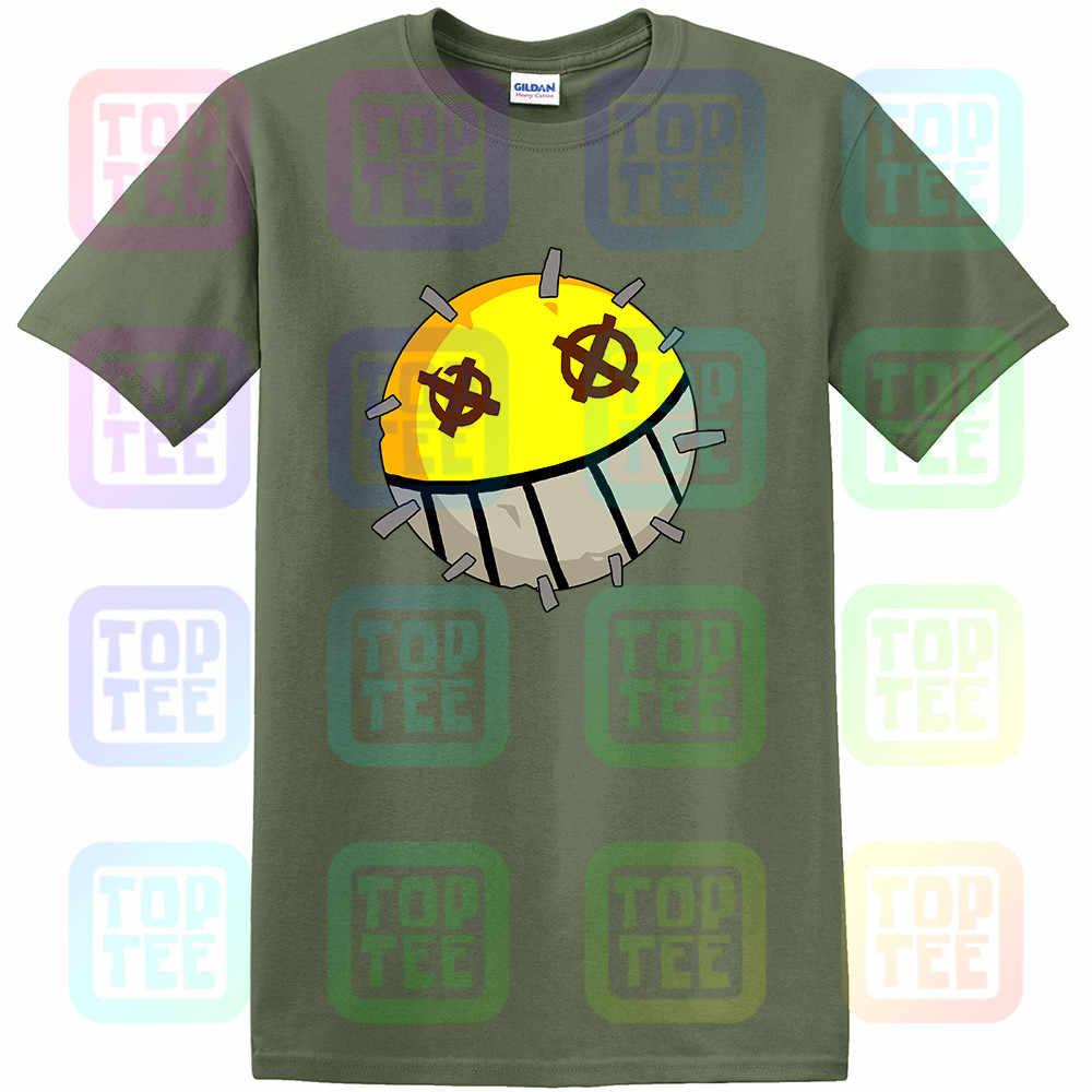 Overwatch erkek Junkrat simgesi Premium pamuk yetişkin T Shirt