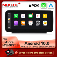 4G LTE Android 10.0 Car Multimedia Player for Mercedes Benz C GLC V Class 2015-2018 GPS Navigation HD Video Auto Stereo System