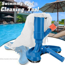 Mini Jet Swimming Pool Vacuum Cleaner Floating Objects Cleaning Tools Suction Head Pond Fountain Brush