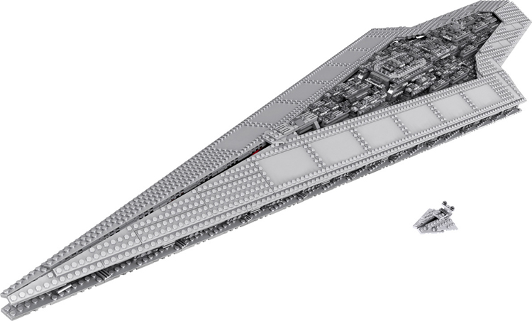 Super Star Destroyer Moc 15881 Blocks Wars Executor class Star Dreadnought Ship Technic Star Wars 10221 10030 Toys Gift Bricks compatible lego 29