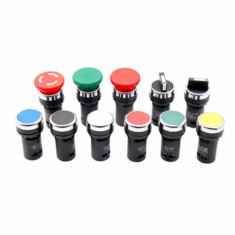 22mm wirtschaftlich LA38-11/206A taste schalter knob schalter not-aus-schalter normal open + normal geschlossen